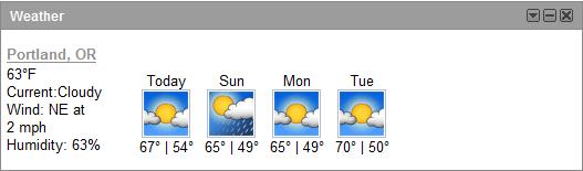 Weatherfication